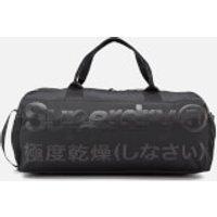 Superdry Mens Trackmaster Barrel Bag - Black