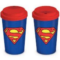 DC Comics Superman Travel Mug - Kitchen Gifts