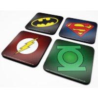 DC Comics Symbols Coaster Set - Kitchen Gifts
