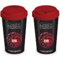 Game of Thrones House Targaryen Travel Mug