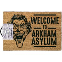 DC Comics The Joker Arkham Door Mat - Dc Comics Gifts