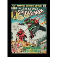 Marvel Comics Spider-Man Vs. Green Goblin 30 x 40cm Gel Coat Prints