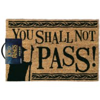 The Lord of the Rings You Shall Not Pass Doormat - Rings Gifts