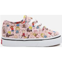 Vans X Peanuts Toddler's Authentic Trainers - Dance Party/Pink - UK 9 Toddler - Pink
