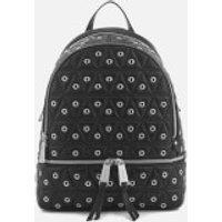 MICHAEL MICHAEL KORS Womens Rhea Zip Medium Backpack - Black