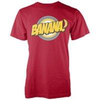 Banana Men's Red T-Shirt - XXL - Red - Banana Gifts