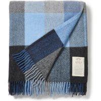 Avoca Lambswool Throw - Denim - 142 x 183cm