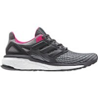 adidas Womens Energy Boost Running Shoes - Grey - US 9/UK 7.5 - Grey