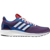 adidas Mens Supernova Running Shoes - Black/Blue - US 10.5/UK 10 - Black/Blue