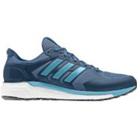 adidas Mens Supernova ST Running Shoes - Black/Blue - US 12/UK 11.5 - Black/Blue