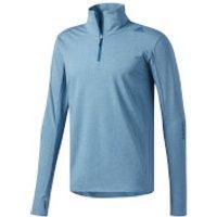 adidas Mens Supernova 1/4 Zip Long Sleeved Running Top - Dark Blue - XL - Blue