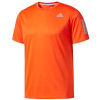 adidas Mens Response Running T-Shirt - Orange - L - Orange