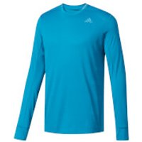 adidas Mens Supernova Long Sleeved Running Top - Blue - XL - Blue