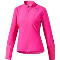adidas Womens Response Running Jacket - Pink - L - Pink