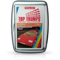 Retro Top Trumps - Exotic Sports Cars