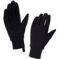 Sealskinz Stretch Fleece Nano Gloves - Black - M - Black
