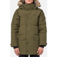 Canada Goose Men's Emory Parka Jacket - Military Green - L - Green