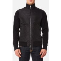 Michael Kors Mens Thermal Quilted Full Zip Jacket - Black - XL - Black