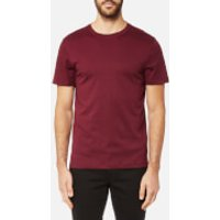 Michael Kors Mens Liquid Jersey Short Sleeve Crew Neck T-Shirt - Chianti - XXL - Red