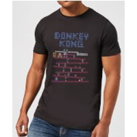 Nintendo Retro Donkey Kong Men's Black T-Shirt - XXL - Black