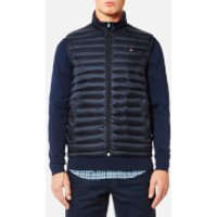 Tommy Hilfiger Mens Lightweight Packable Down Vest - Sky Captain - M - Blue