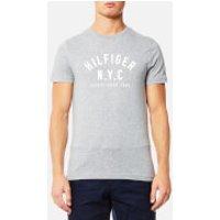 Tommy Hilfiger Mens Chase Logo T-Shirt - Cloud Heather - XL - Grey