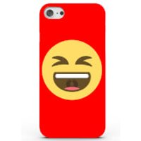 Emoji Laugh Out Loud Case for iPhone & Android - 4 Colours - Samsung Galaxy S6 Edge - Red - Laugh Gifts