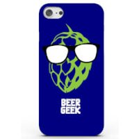 Beer Geek Phone Case for iPhone & Android - 4 Colours - Samsung Galaxy S7 - Blue