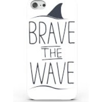 Brave the Wave Phone Case for iPhone & Android - 4 Colours - iPhone 7 Plus - White