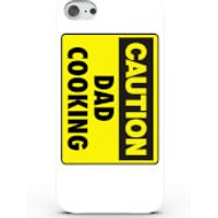 Caution Dad Cooking Phone Case for iPhone & Android - 4 Colours - iPhone 7 Plus - White