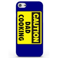 Caution Dad Cooking Phone Case for iPhone & Android - 4 Colours - iPhone 7 - Blue - Cooking Gifts
