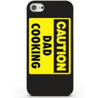 Caution Dad Cooking Phone Case for iPhone & Android - 4 Colours - iPhone 5/5s - Black - Cooking Gifts