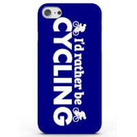 I'd Rather Be Cycling Phone Case for iPhone & Android - 4 Colours - iPhone 6/6s - Blue