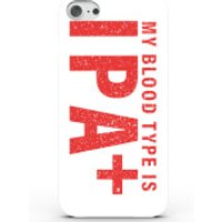 Beershield My Blood Type is IPA Plus Phone Case for iPhone & Android - 4 Colours - iPhone 7 Plus - W
