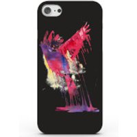 Colourful Paint Bird Phone Case for iPhone & Android - 4 Colours - iPhone 6/6s - Black