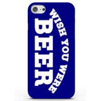 Wish You Were Beer Phone Case for iPhone & Android - 4 Colours - iPhone 6/6s - Blue
