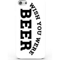 Wish You Were Beer Phone Case for iPhone & Android - 4 Colours - Samsung Galaxy S6 Edge - White