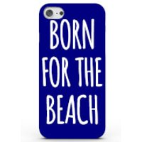 Phone Case - 3D Full Wrap - Plastic - Samsung Galaxy S6 Edge Born For The Beach - Blue