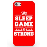My Sleep Game Is Strong Phone Case For Iphone & Android - 4 Colours - Iphone 7 Plus - Red