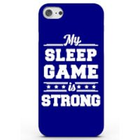 My Sleep Game Is Strong Phone Case For Iphone & Android - 4 Colours - Iphone 7 - Blue