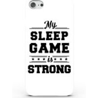 My Sleep Game Is Strong Phone Case For Iphone & Android - 4 Colours - Iphone 5c - White