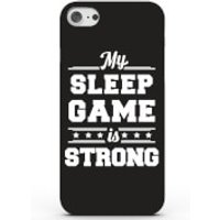 Phone Case - 3D Full Wrap - Plastic - Samsung Galaxy S7 Edge My Sleep Game is Strong - Blue