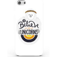 I Believe in Unicorns Phone Case for iPhone & Android - 4 Colours - iPhone 5c - White