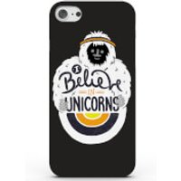 I Believe in Unicorns Phone Case for iPhone & Android - 4 Colours - Samsung Galaxy S6 Edge - Black