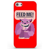 Feed Me Phone Case for iPhone & Android - 4 Colours - Samsung Galaxy S6 Edge Plus - Red