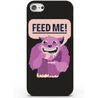 Feed Me Phone Case for iPhone & Android - 4 Colours - iPhone 7 - Black