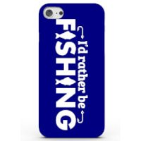 I'd Rather Be Fishing Phone Case For Iphone & Android - 4 Colours - Iphone 6 Plus - Blue