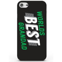 Worlds Best Grandad Phone Case for iPhone & Android - 4 Colours - iPhone 5/5s - Black - Grandad Gifts
