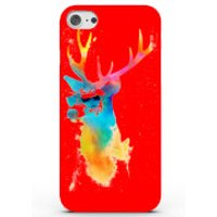 Summer Stag Phone Case for iPhone & Android - 4 Colours - Samsung Galaxy S7 - Red