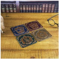 Harry Potter Crest Coasters - Harry Potter Gifts